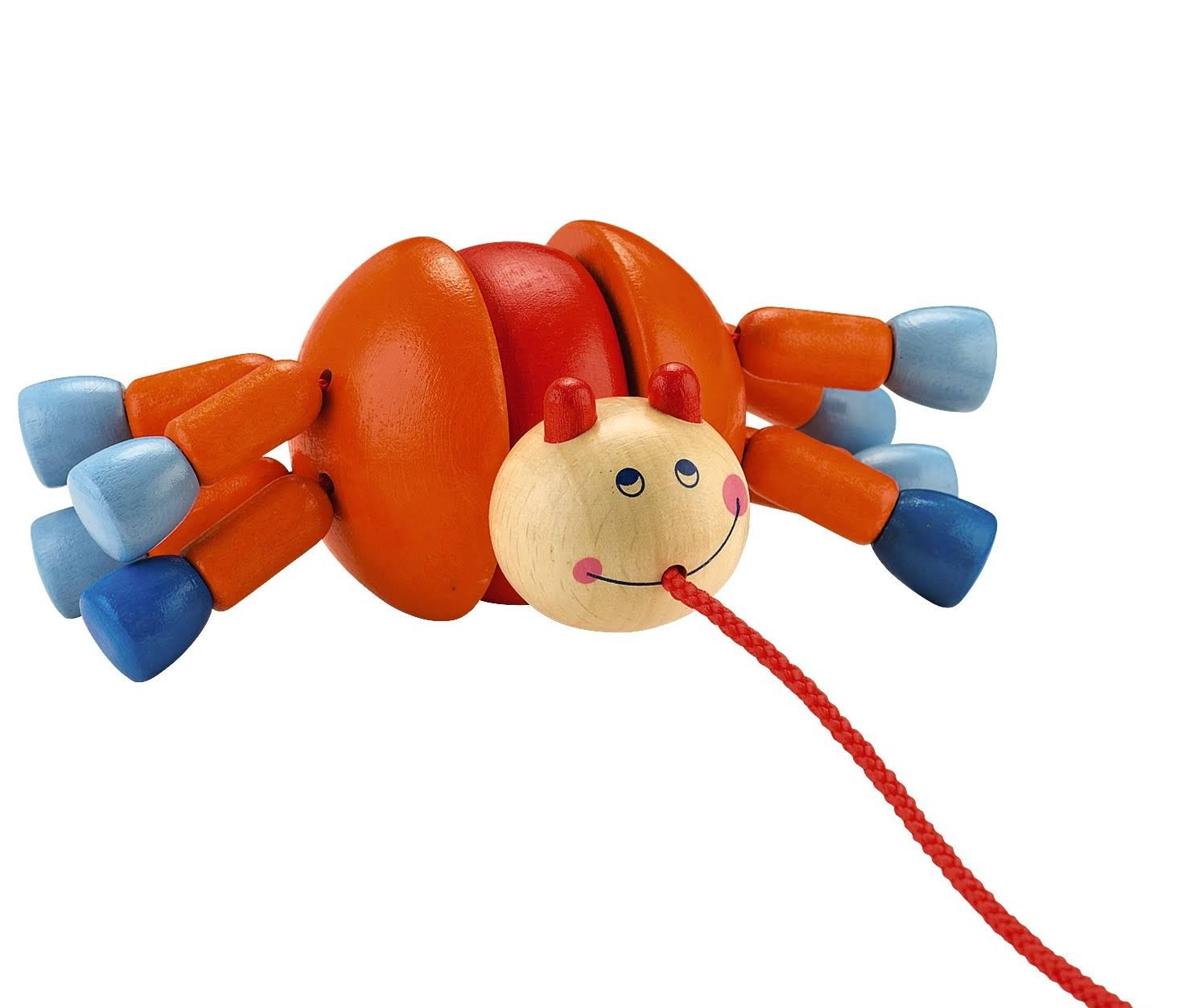 Haba 300727 Webby Walker Wooden Pull Toy