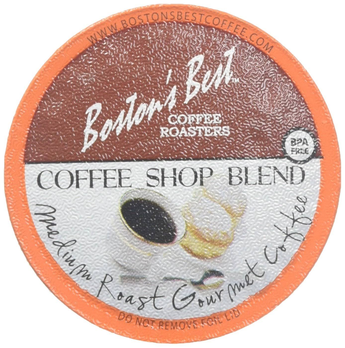Boston's Best Single Serve K-Cup Coffee - Coffee Shop Blend, 42ct