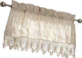 Pink Ruffle Curtain Topper by August Grove Oliverson Macramé 55