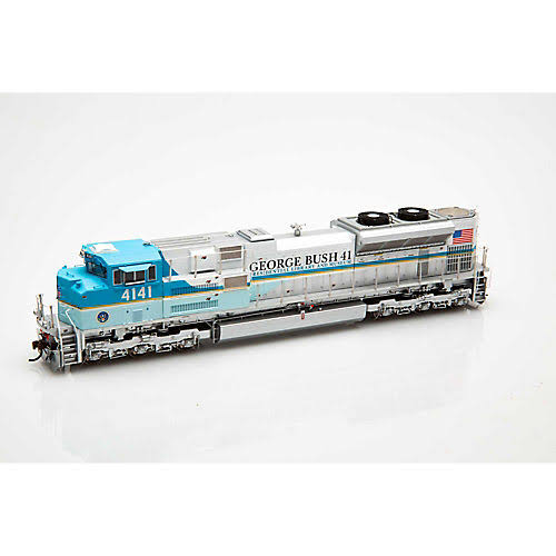 Athearn Genesis Dcc and Sound Up George Bush Locomotive