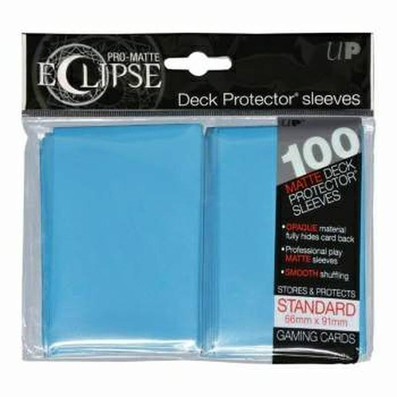 Ultra Pro Pro-Matte Eclipse Sky Blue Standard (100) Deck Protector Sleeves