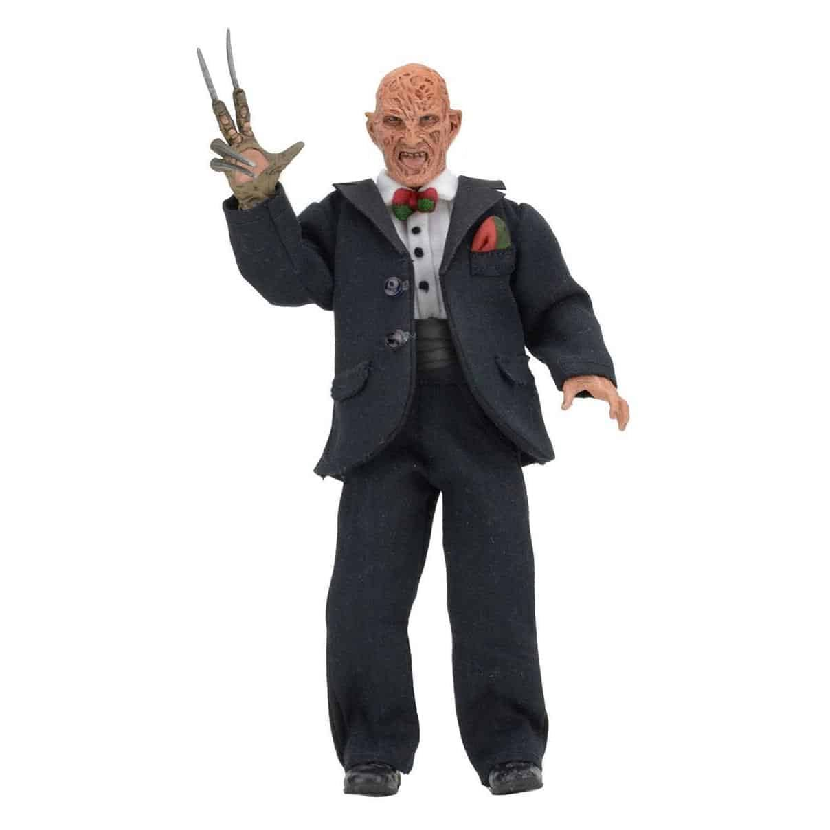 A Nightmare on Elm Street 3 Retro Action Figure - Tuxedo Freddy, 8""