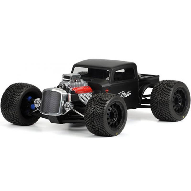 Pro-Line 3410-00 Rat Rod Clear Body Traxxas Revo Summit E-Rrevo with Trimming