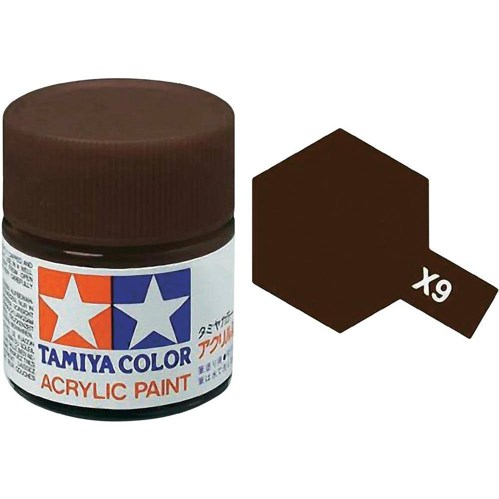 Tamiya Acrylic X9 Brown 3/4 oz