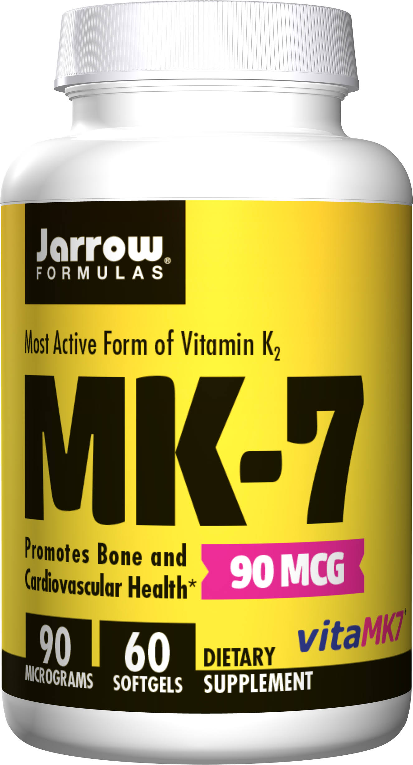 Jarrow Formulas Vitamin K-2 as MK-7 Supplement - 60 Softgels