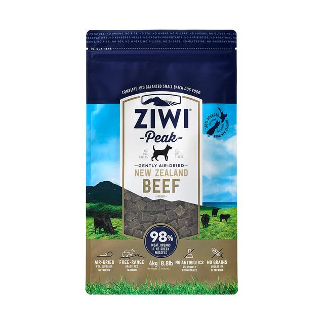 Ziwi Peak Air Dried Beef Dog Food - 4kg