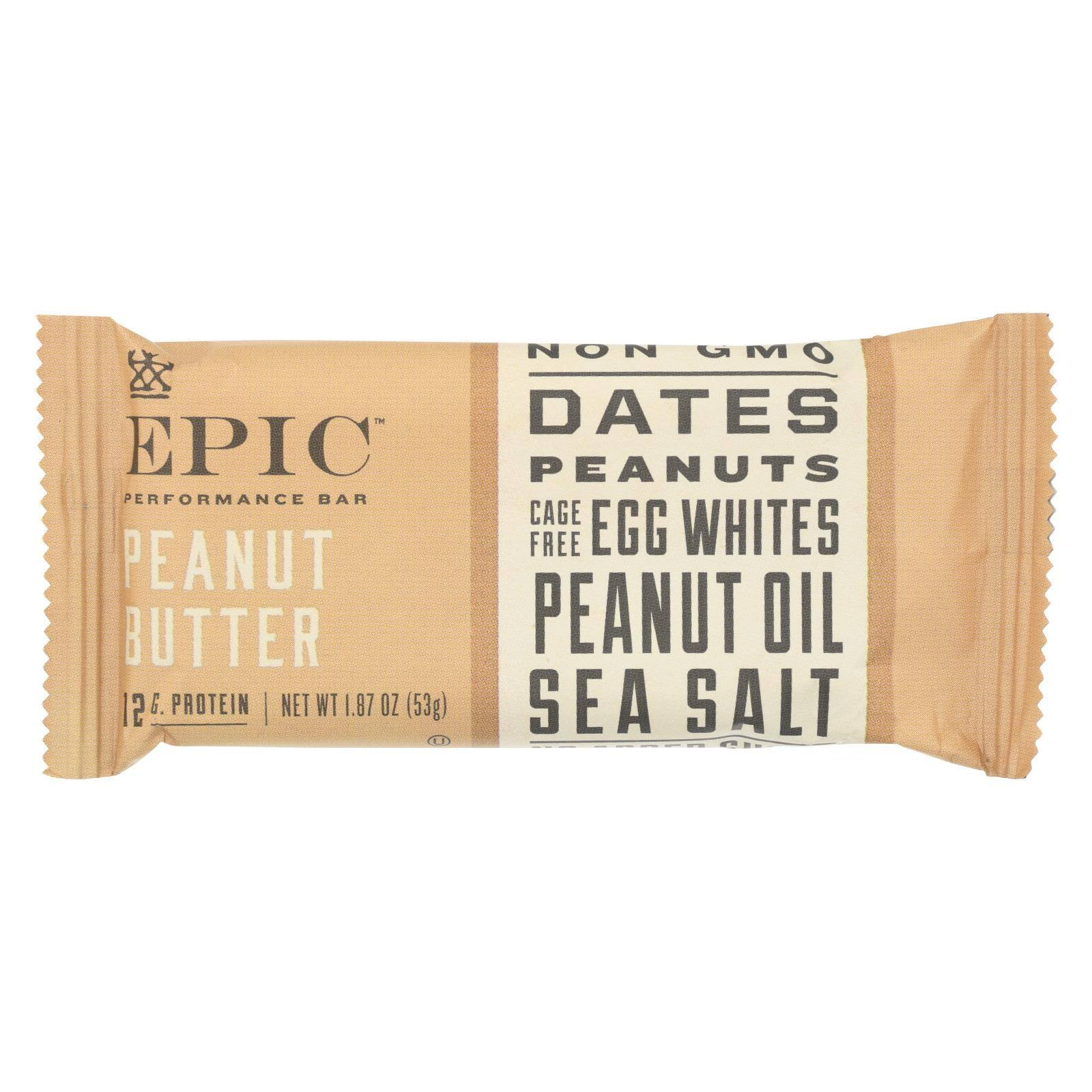 Epic Bar, Peanut Butter - 1.87 oz