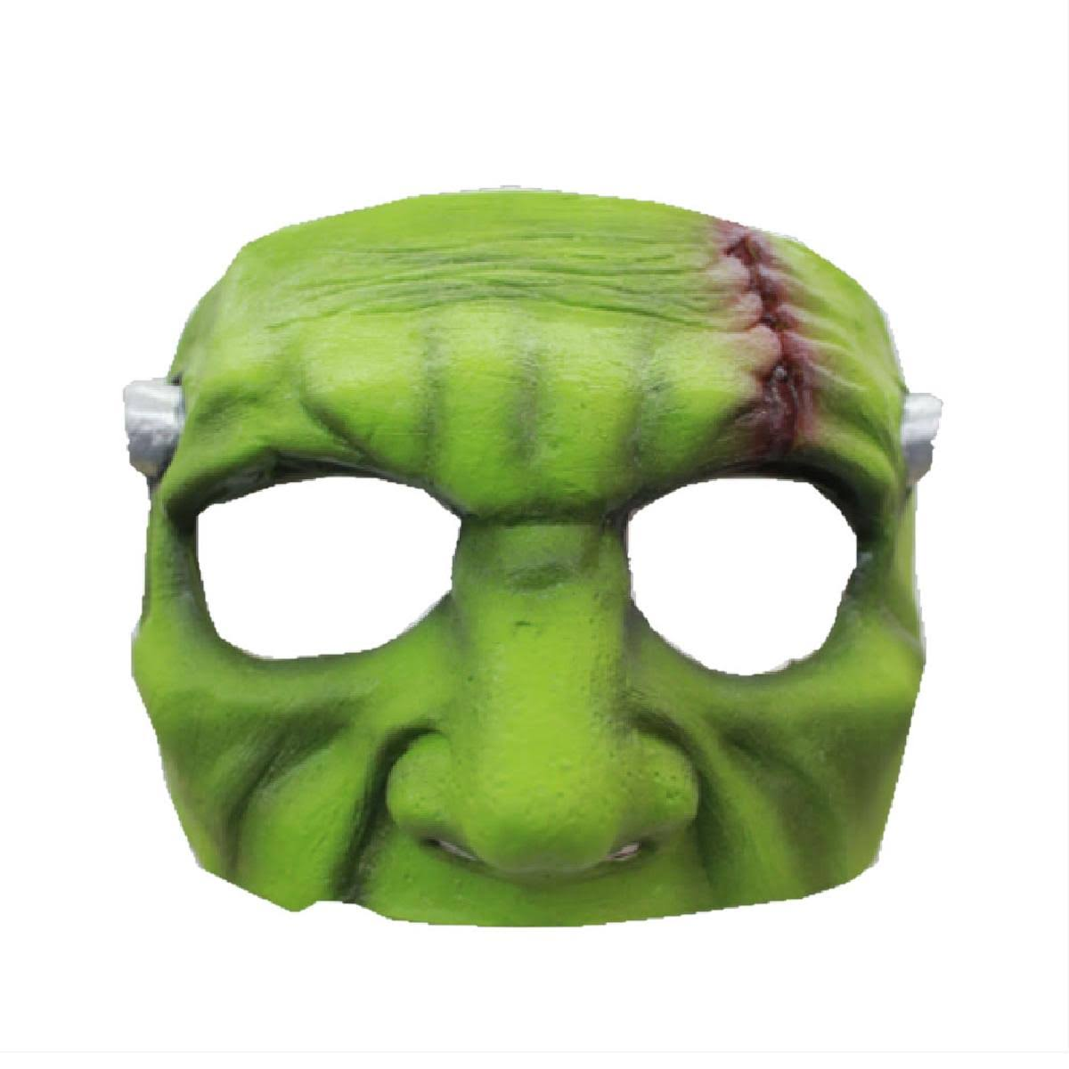 Green Monster Latex Half Mask