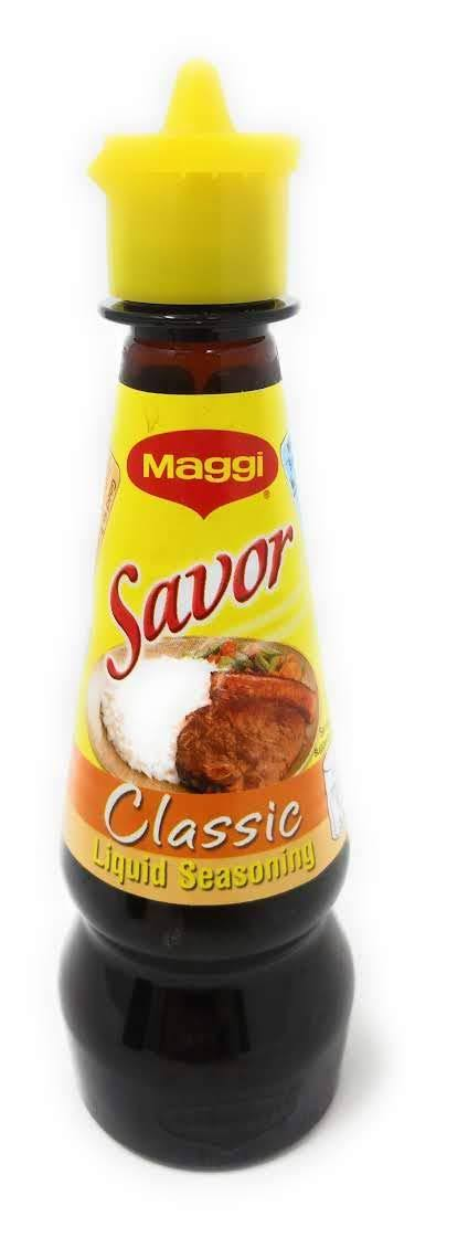Maggi Savor Liquid Seasoning - Classic, 130ml