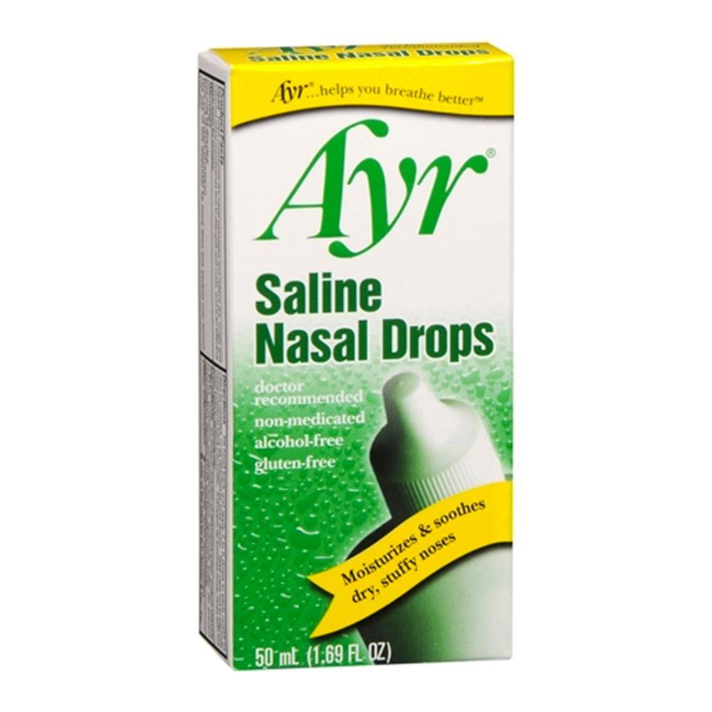 AYR Saline Nasal Drops - 50ml