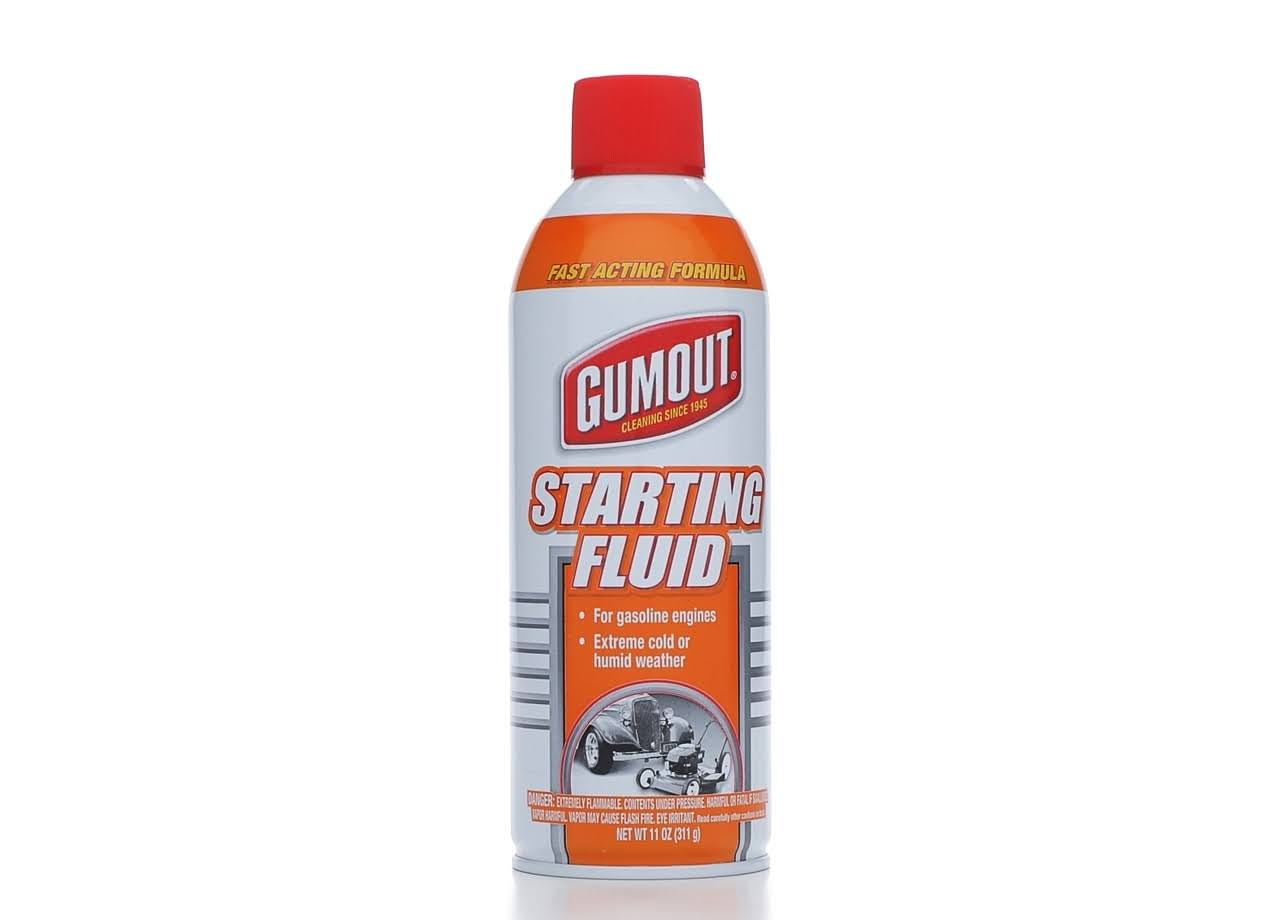 Itw Global Brands Gumout Starting Fluid - 11oz