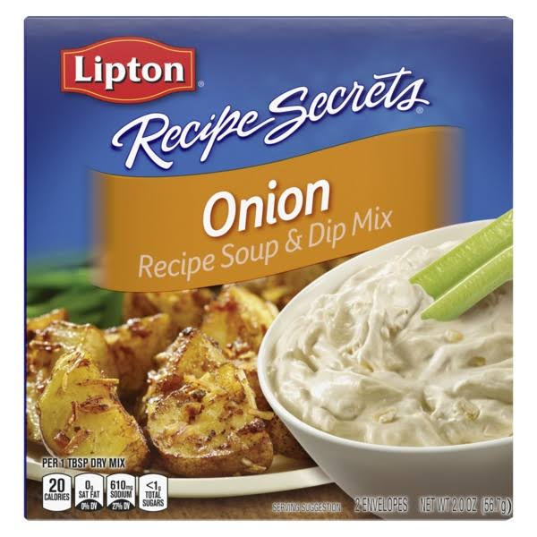 Lipton Recipe Secrets Onion Recipe Soup & Dip Mix - 56.7g