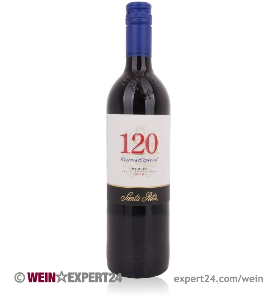 Santa Rita 120 Merlot - Rapel Valley, Chile