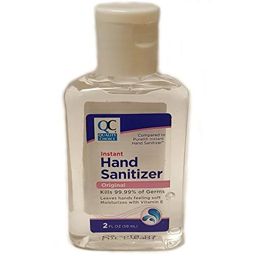 Quality Choice Instant Hand Sanitizer Original 2 oz (Compare to Purell Instant Hand Sanitizer) (Pack of 1)