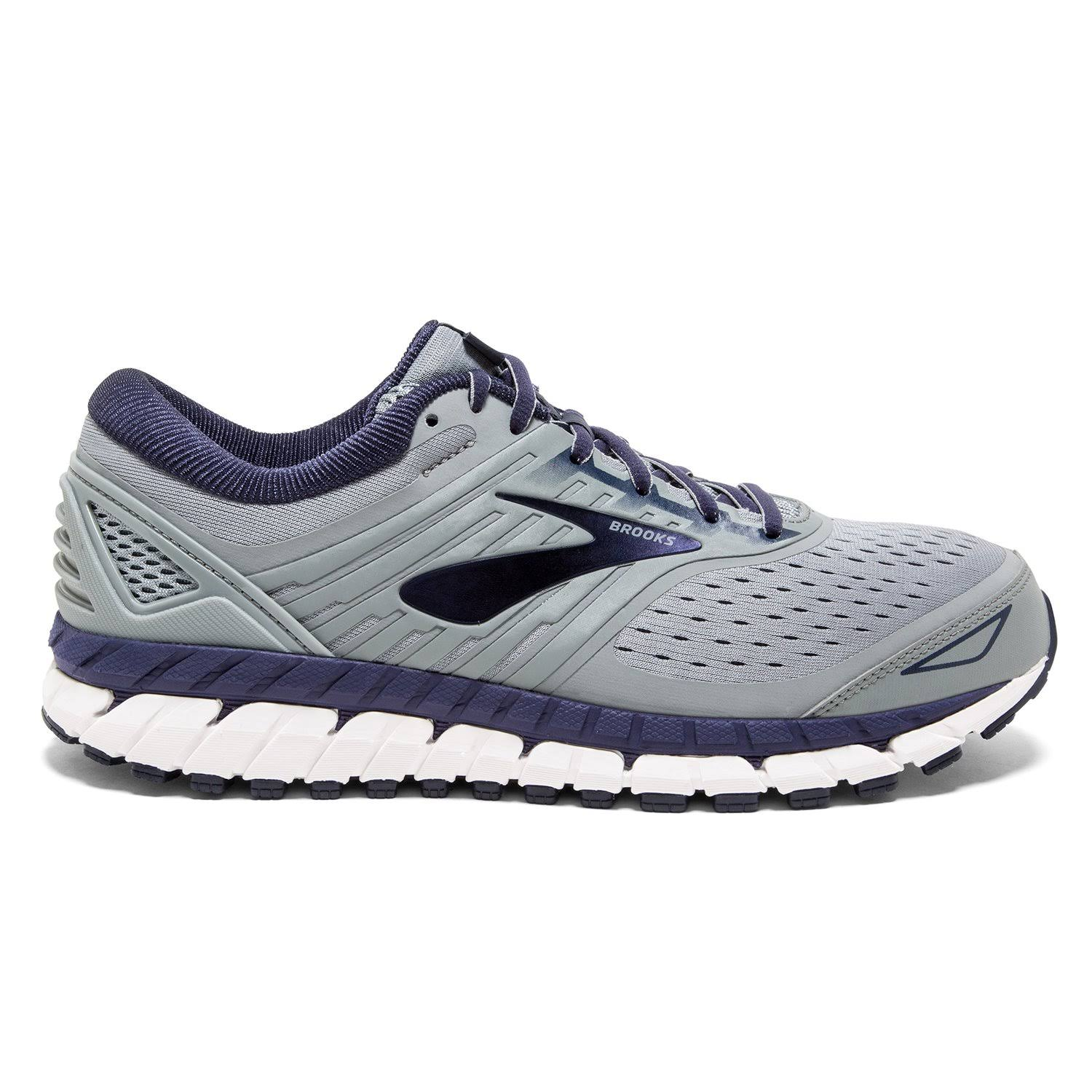 Brooks Beast '18 Men's Running Shoes Grey/Navy/White : 16 4E - Extra Wide