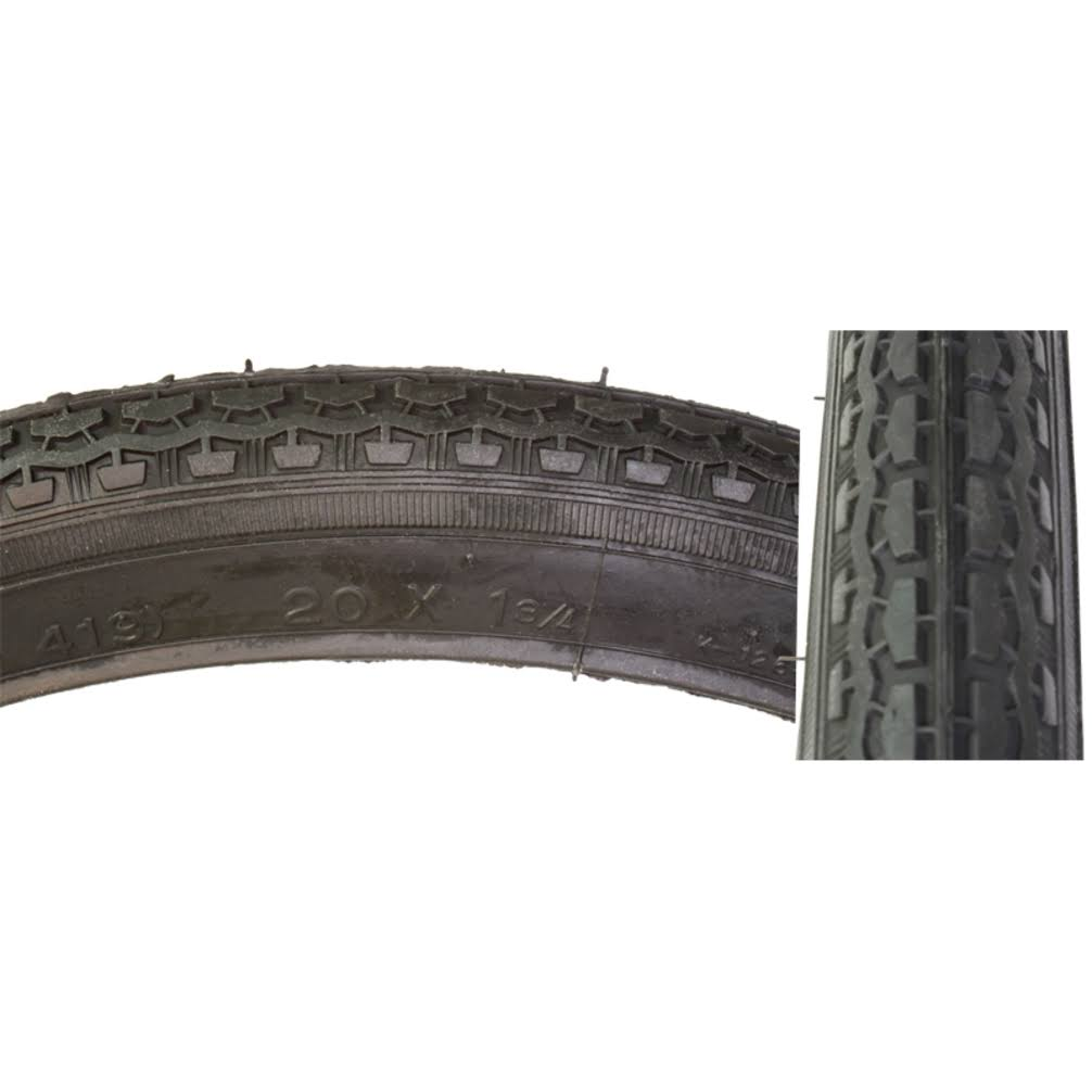 "Sunlite Street Bicycle Tire - Black, 20"" x 1.75"""