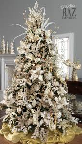 Raz Gold Christmas Trees by 37 Inspiring Christmas Tree Decorating Ideas Christmas Tree