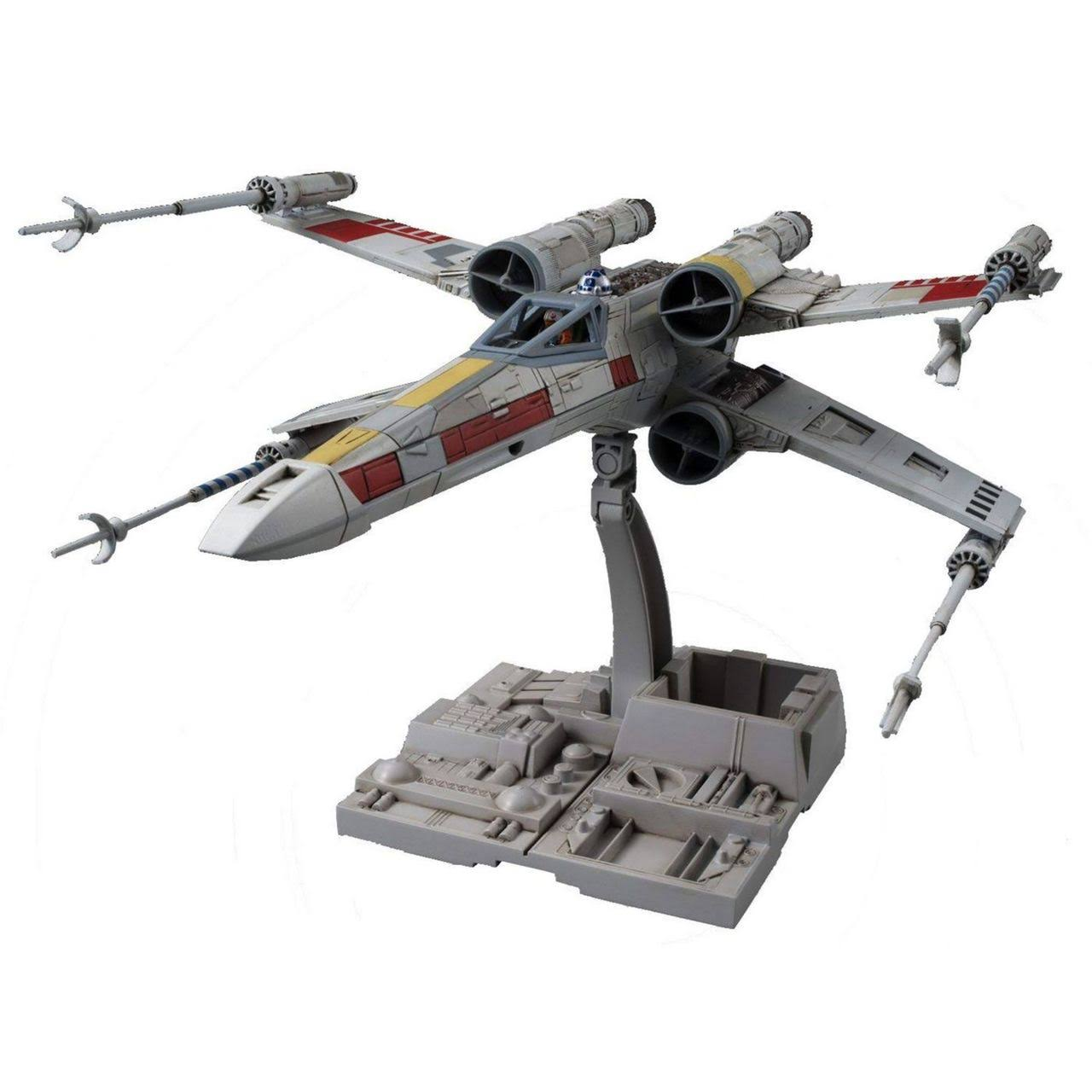 Bandai Star Wars Wing Starfighter Scale Model