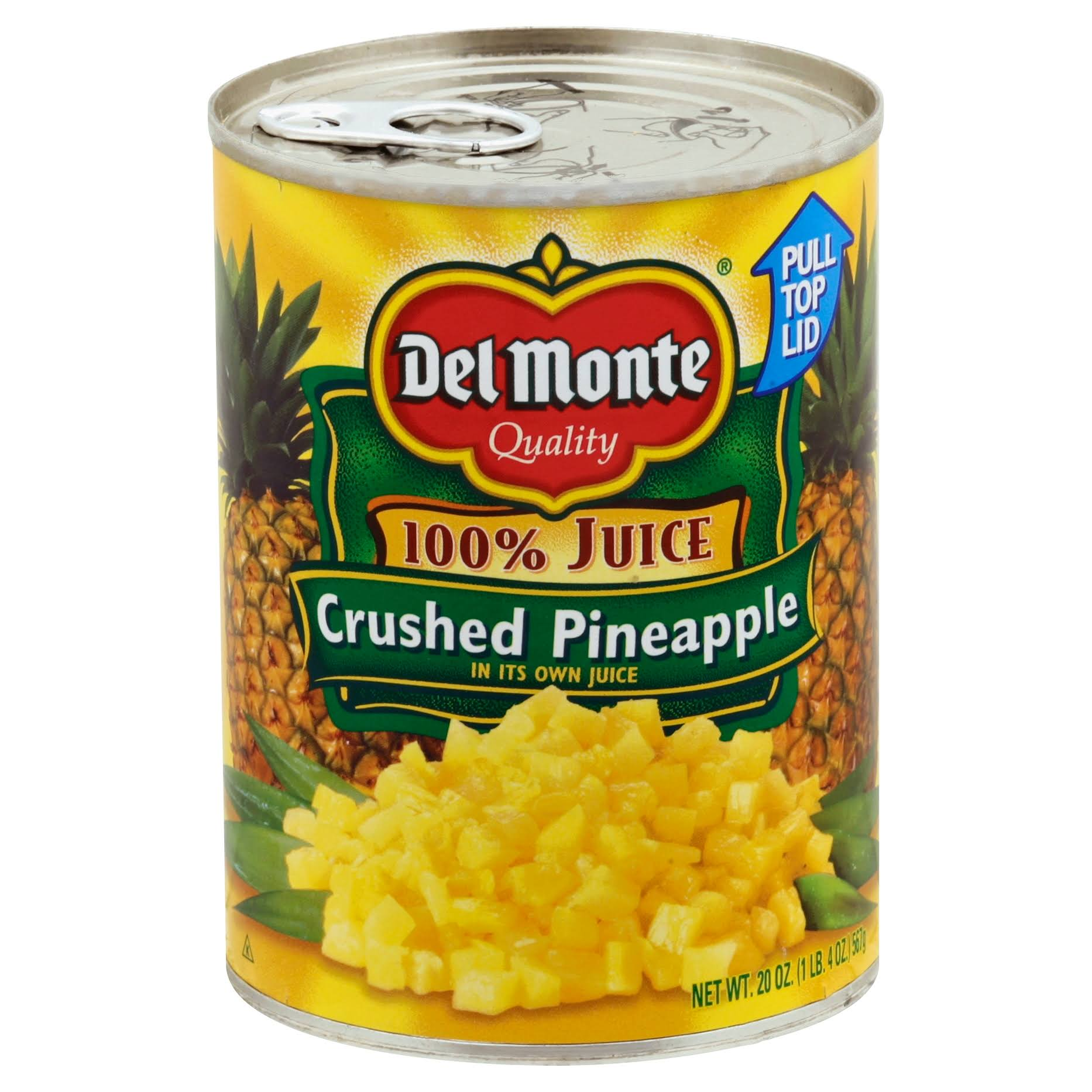 Del Monte Juice Crushed Pineapple - 20oz