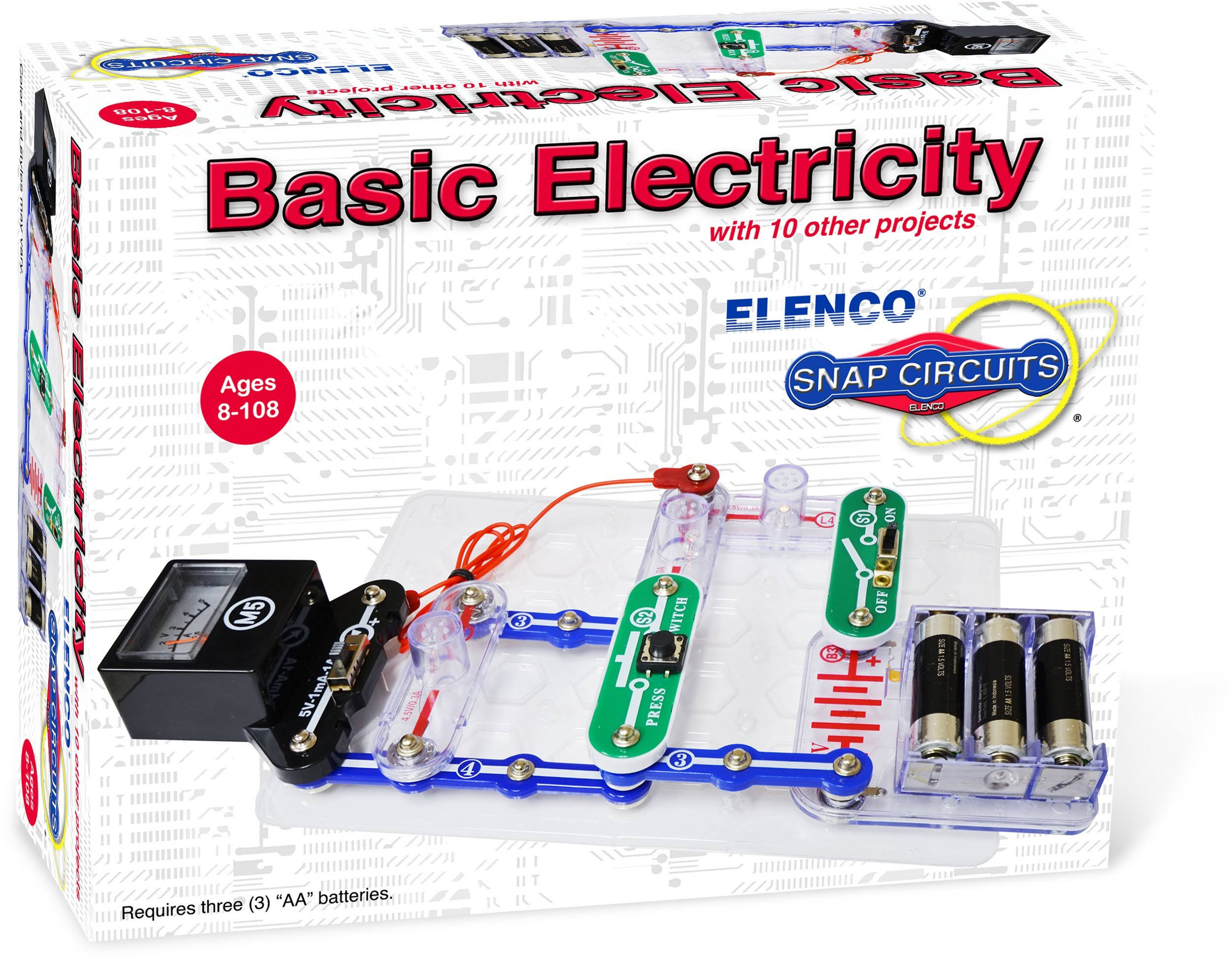 Snap Circuits Mini Toy Kit - Basic Electricity