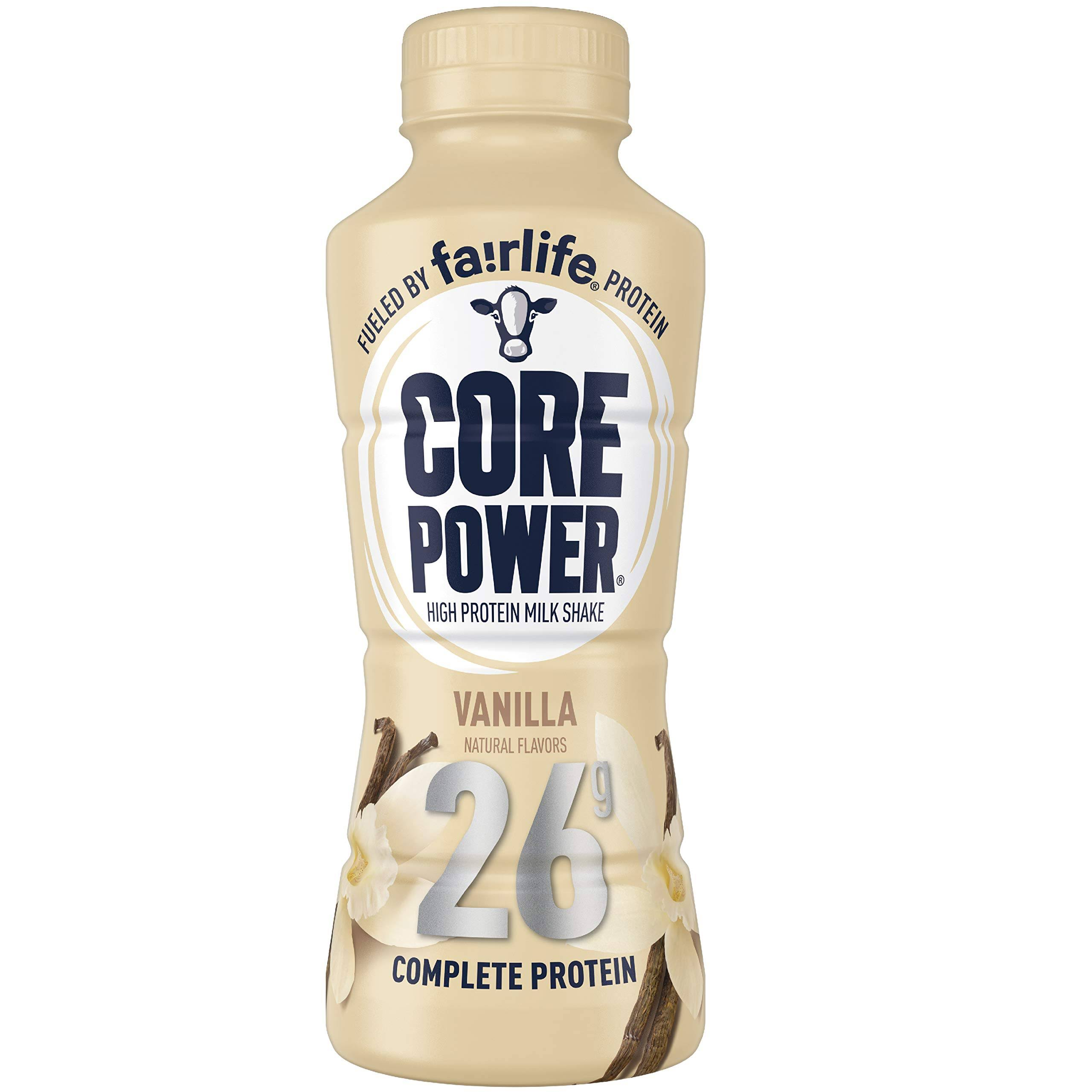 Core Power Milk Shake, High Protein, Vanilla - 14 fl oz