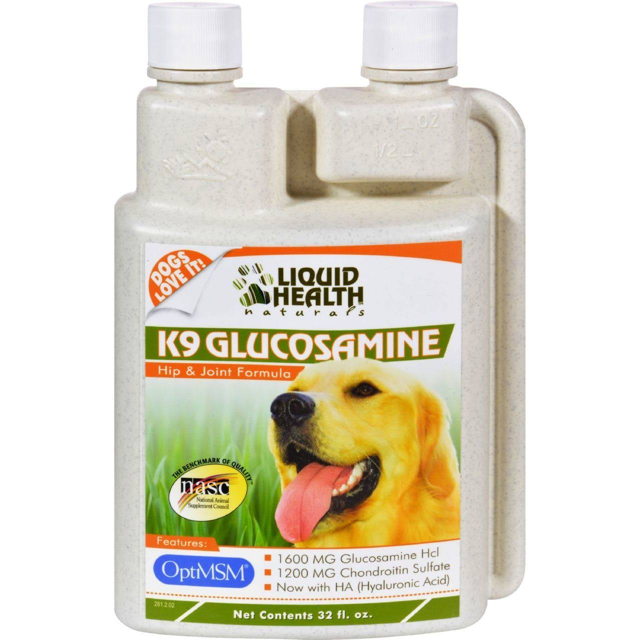 Liquid Health K-9 Glucosamine Hip and Joint Formula
