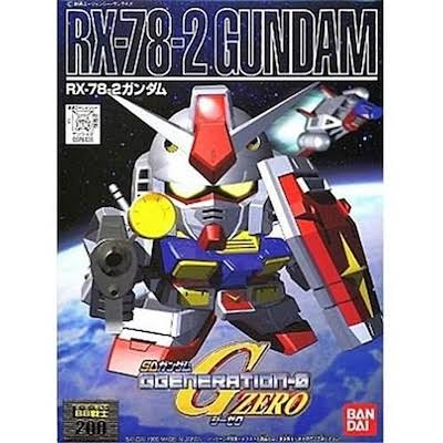 Bandai - BB200 RX-78-2 Gundam SD Action Figure - 5057408
