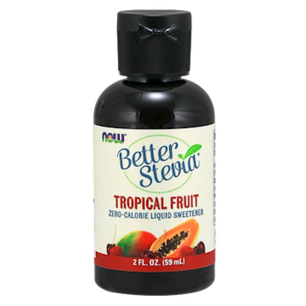 Now Foods Better Stevia Tropical Fruit Liquid - 60ml