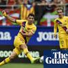 European roundup: Griezmann inspires Barcelona, Bayern suffer late shock