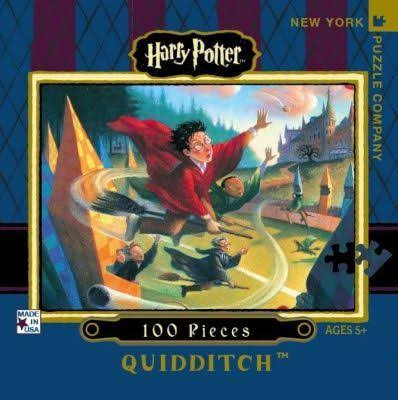 New York Puzzle Company Harry Potter Quidditch Mini