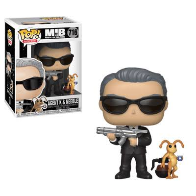Funko Pop! Movies: Men in BLACK-AGENT K & Neeble
