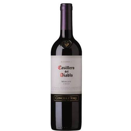 Casillero Del Diablo Merlot, Chile (Vintage Varies) - 750 ml bottle