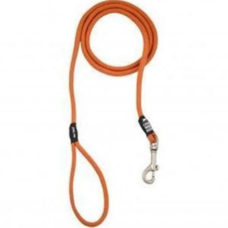 "Tall Tails Rope Dog Leash - 60"" X 5/16"", Over 50lb, Orange"