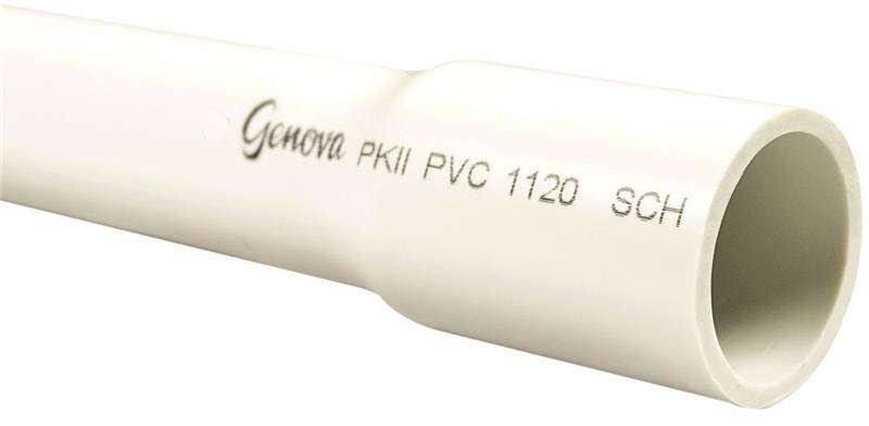 "Genova 300 Cold Water Pressure Pipe - Belled, 1/2""x20', 280 psi"