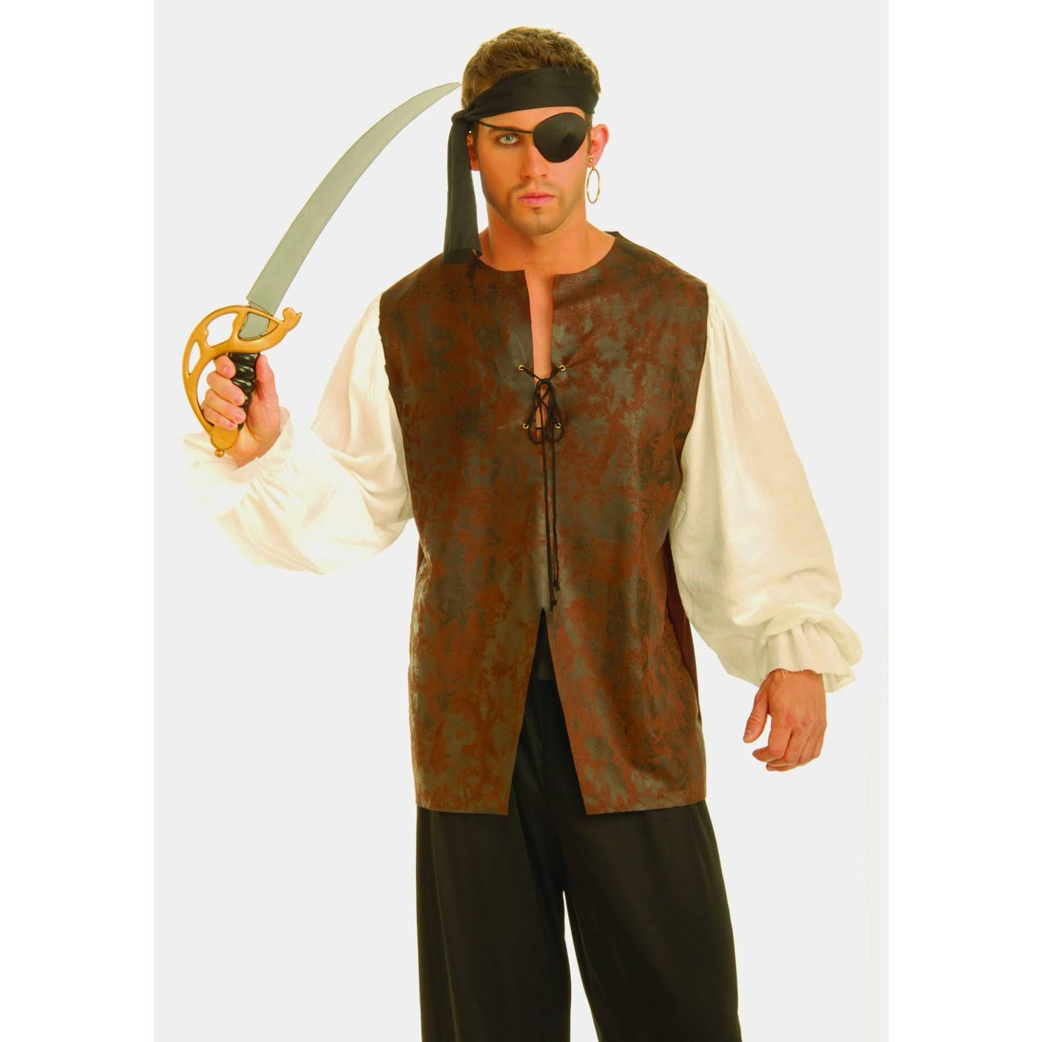 Buccaneer Shirt Adult Costume (XL)