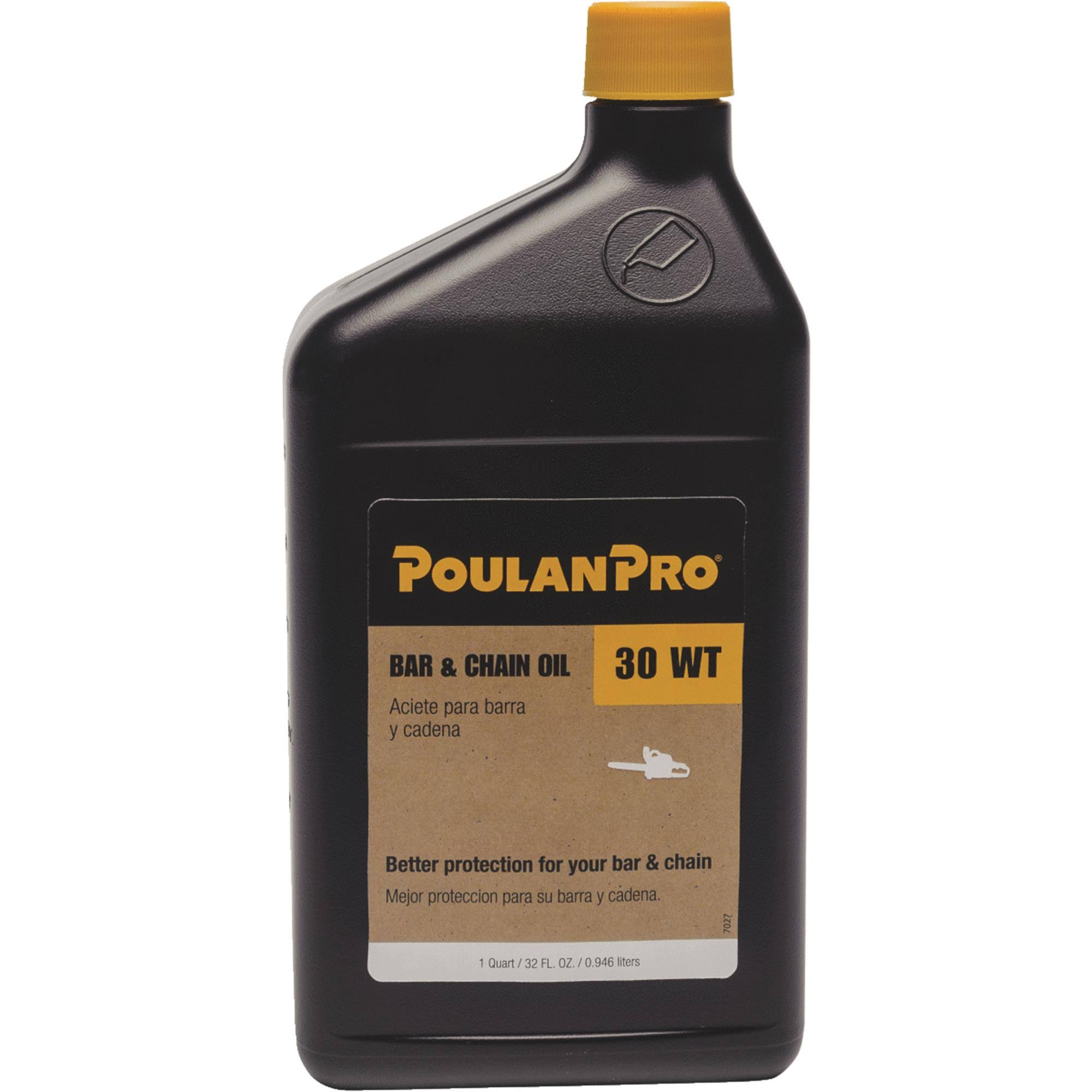 Poulan Pro Bar and Chain Oil - 1qt
