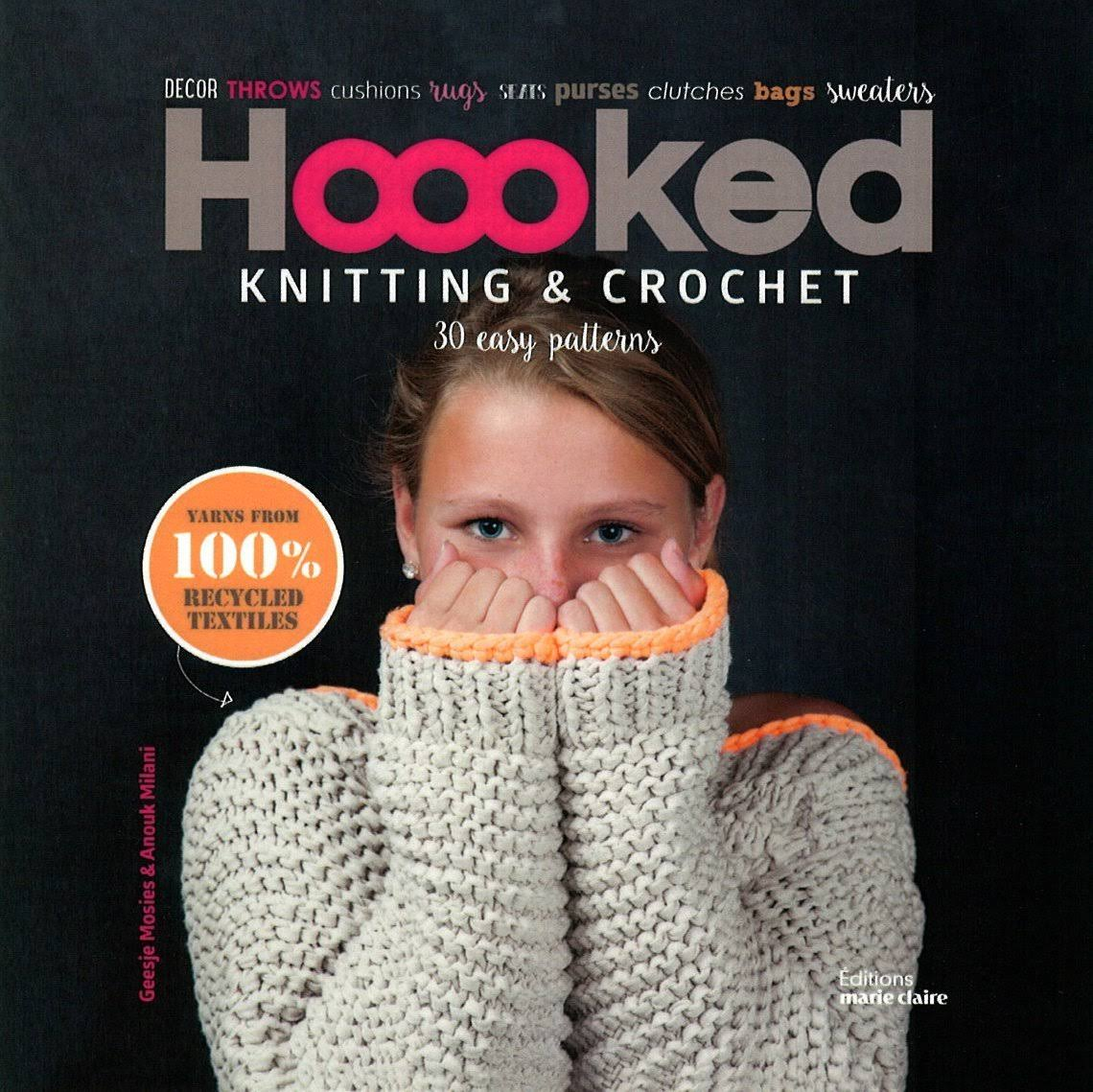 Hoooked Knitting and Crochet - Geesje Mosies and Anouk Milani