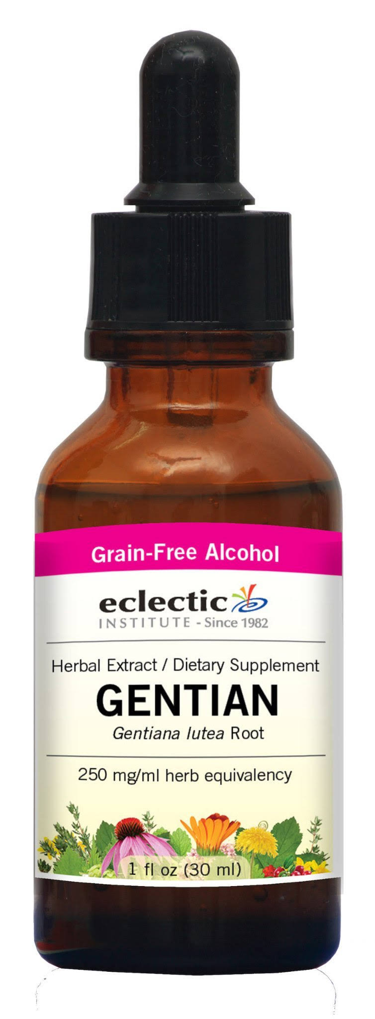 Eclectic Institute Gentian Extract - 1 oz - Liquid