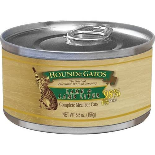 Hound and Gatos Grain Free Lamb Can Cat Food