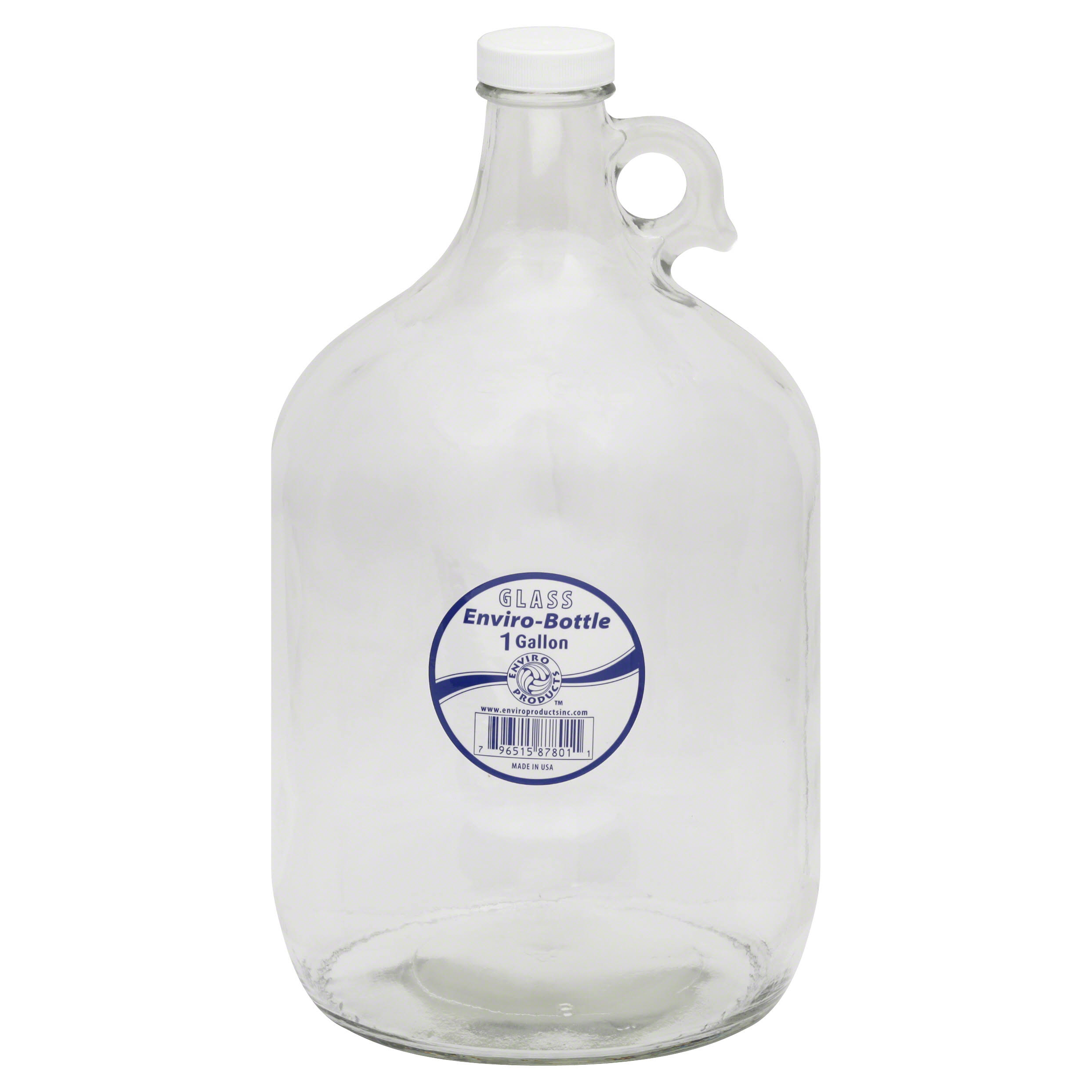 New Wave Enviro Glass Bottle, 1 Gallon