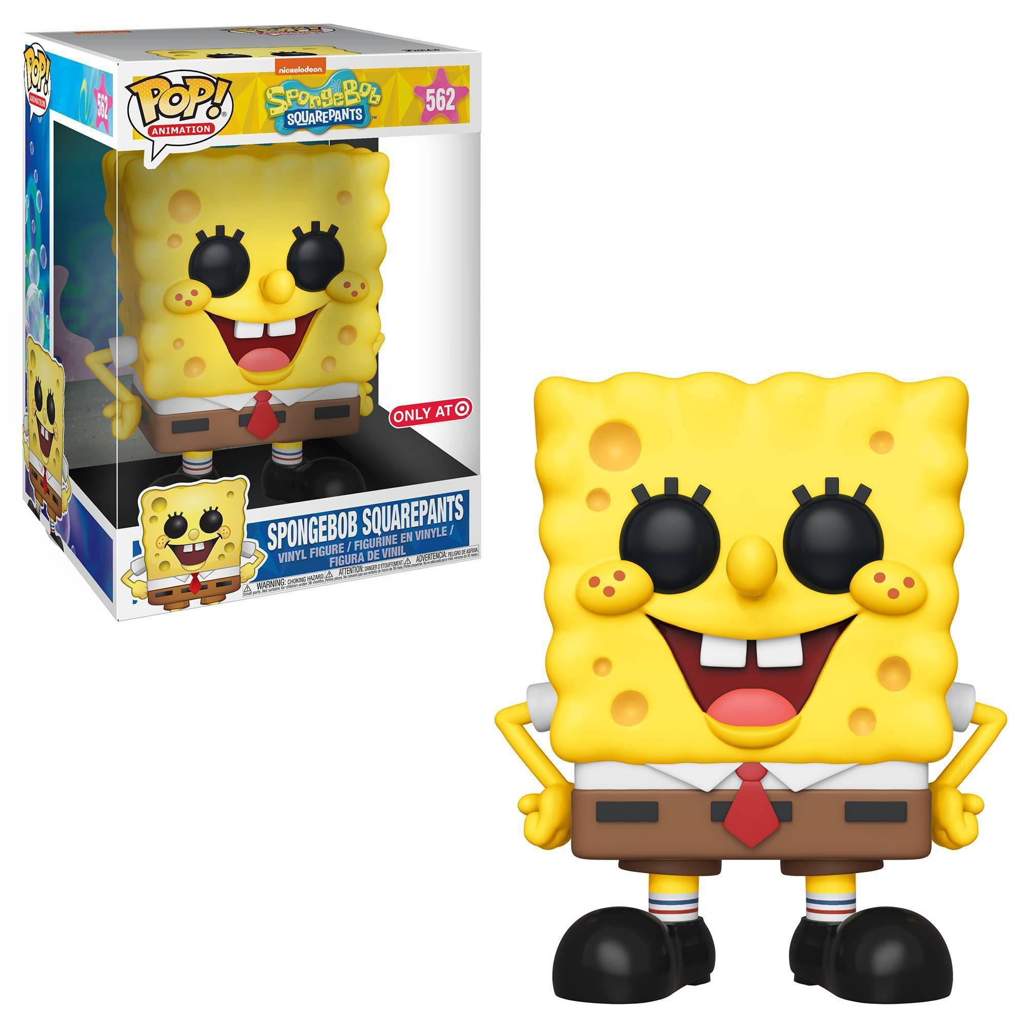 "Funko Pop Exclusive Vinyl Figure - 10"", SpongeBob SquarePants"