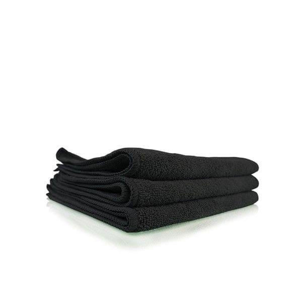 Chemical Guys Workhorse Professional Grade Microfiber Hand Towels - Black