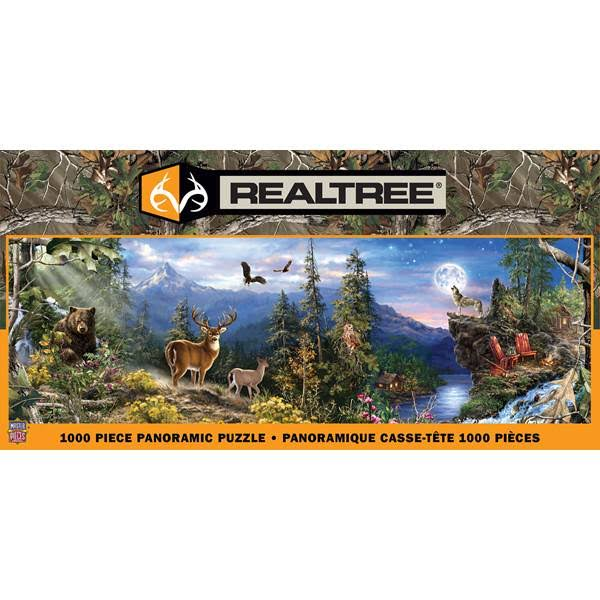 Masterpieces 1000-Piece Realtree Panoramic Puzzle