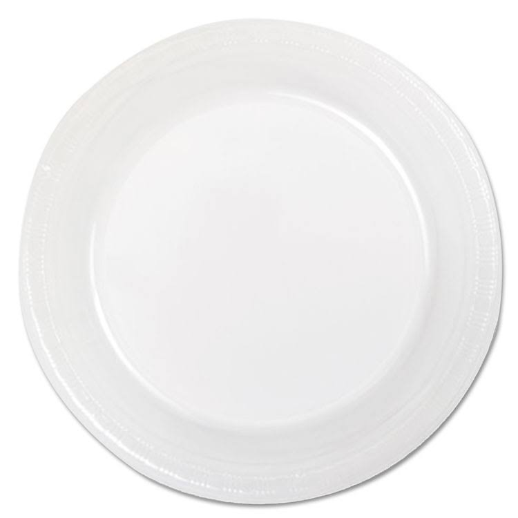 "Creative Converting Plastic Plate, Clear, 7"" - 20 count"