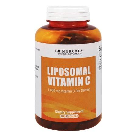 Dr. Mercola Liposomal Vitamin C Supplements - 180 Capsules