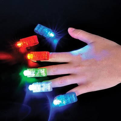 Light Up Finger Beams