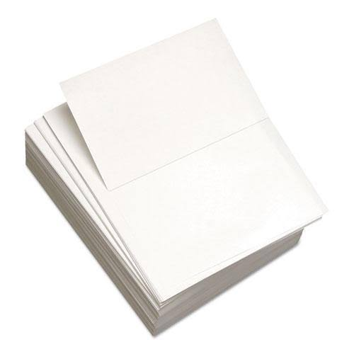 Domtar Custom Cut-Sheet Copy Paper, 92 Bright, 20lb, 8.5 x 11, White, 500/Ream - DMR851055RM