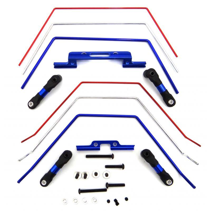 Hot Racing Front And Rear Wide Sway Bar Kit