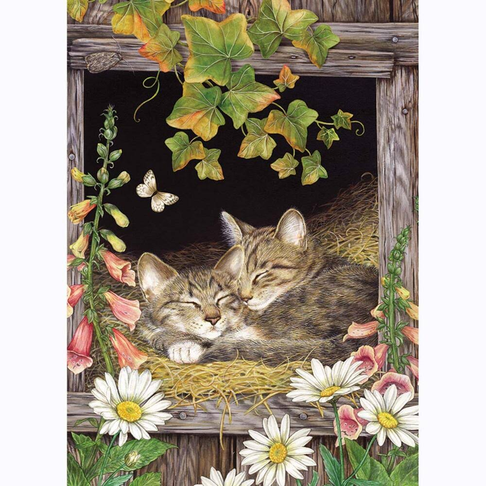 Cobble Hill Sisters, Cat Jigsaw Puzzle