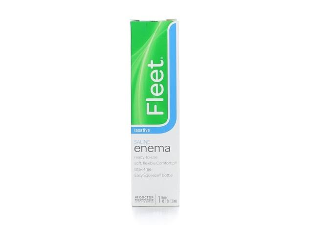 Fleet Enema, Saline - 1 bottle, 4.5 fl oz